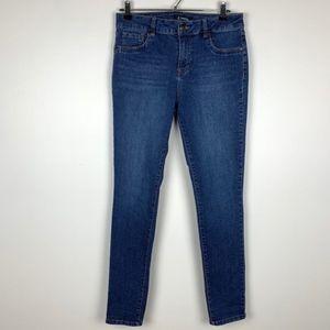 d.jeans Womans size 8 Skinny Blue Denim